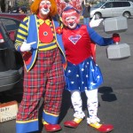 Jim and Katie from the Freestate Clowns