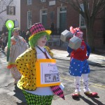 Clowns in the parade
